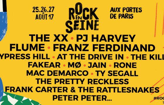 Ne partez pas en weekend sans la playlist Rock En Seine 2017