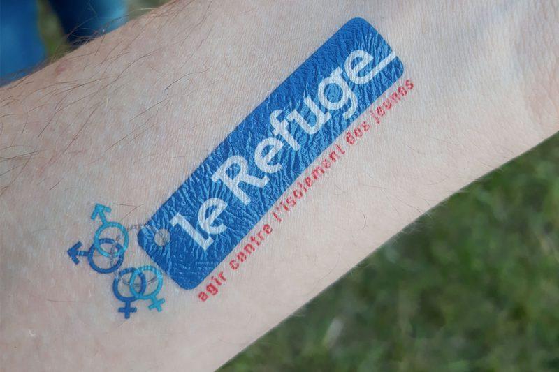 Le Refuge, association présente à Rock en Seine