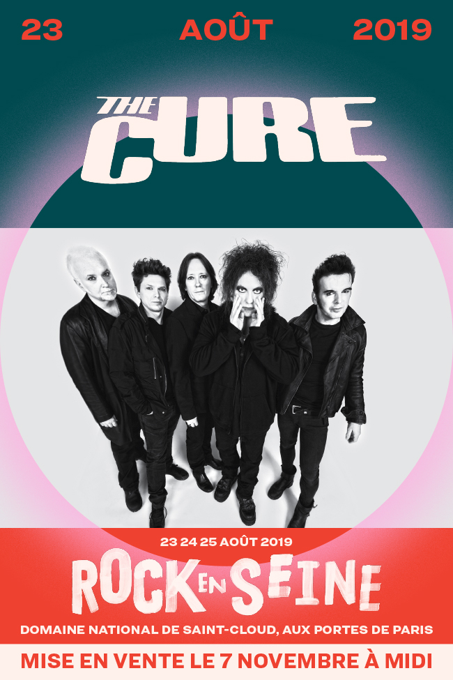 The Cure à Rock en Seine 2019