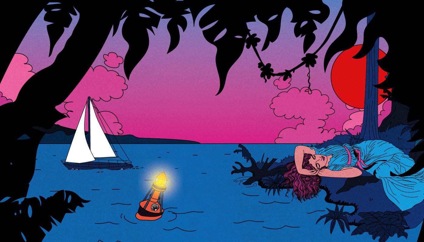 Rencontre avec Cosmo, illustratrice de Rock en Seine 2022